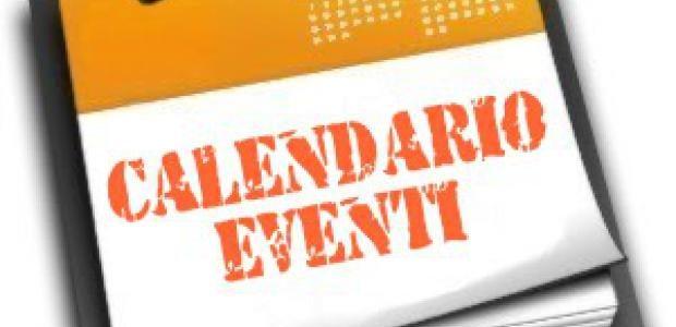Calendario feste, incontri e eventi